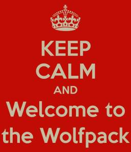 Keep Calm & Welcome to the Wolf Pack