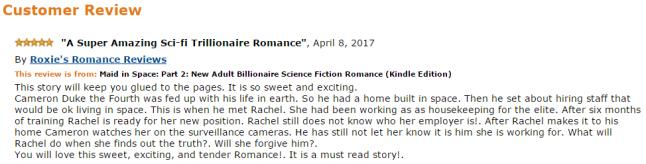 A Super Amazing Sci-Fi Trillionaire Romance 5 stars